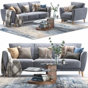 Aria Sofa And Armchair