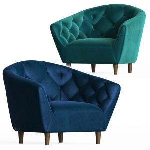 Deephouse Florence Velvet Armchair
