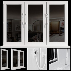 Veka Windows With Penkid Cable Lock