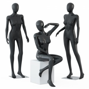 Three female mannequins 58