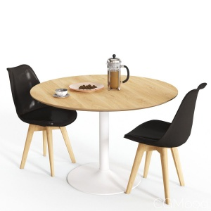 Habitat Lance Table And Jerry Chair