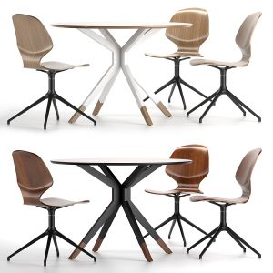 Boconcept - Florence Chair + Billund Table