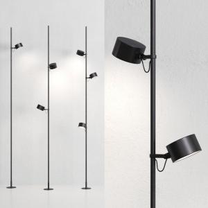 Bubka outdoor floor lamp by Davide Groppi