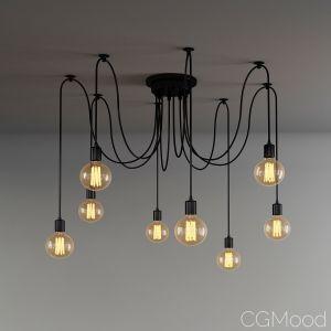 Vintage Nordic Spider Pendant Lamp