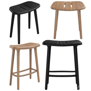Manutti - Solid And Counter Stools
