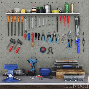 Garage Tools Set 1