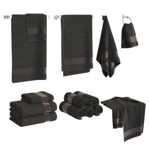 Black Towels Set