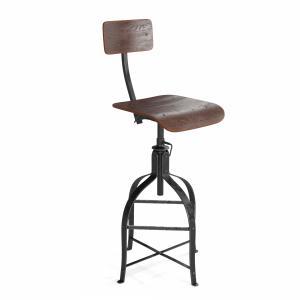 Rustic Drafting Chair