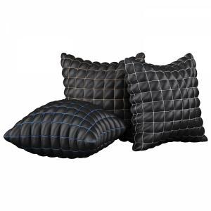 Pillow Set 09 | Black Segment