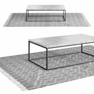 Coffeetable + Carpet