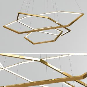 Vesanto Geometric Chandelier