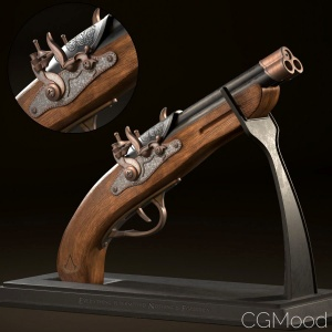 Assassin Creed Gun Concept