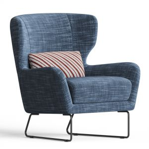 Mboise Fabric Accent Chair Macys