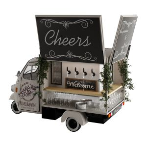 Food Truck Cheers Bar