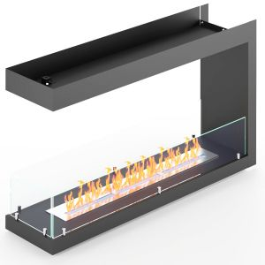 Built-in Biofireplace Lux Fire End 1155 М