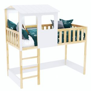 Sebara Bed-cabin With Bed Base