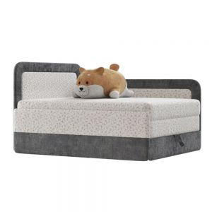 Children Bed Sofa And Shiba Toy