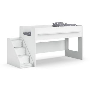 Legenda K23 With Ly02 White Childrens Modular Bed
