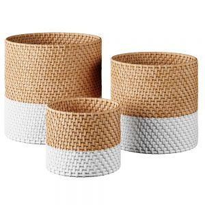 Wicker Baskets Decor