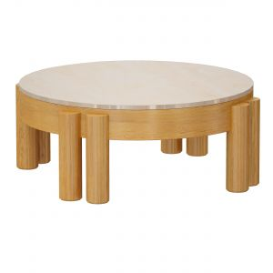 Oasis Round Wood Coffee Table