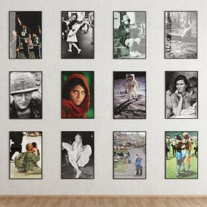 Famous Photos In Frames Collection