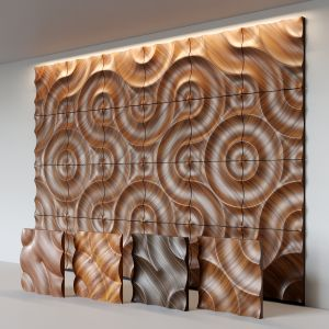 Moko Wooden 3d Wall Panels