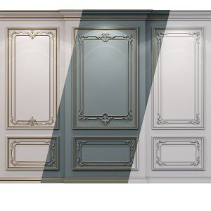 Wall Molding 21 Boiserie Classic Panels