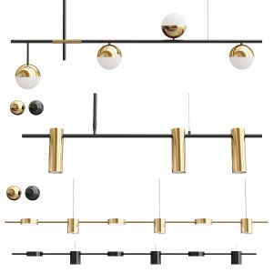 Collection Linear Chandelier