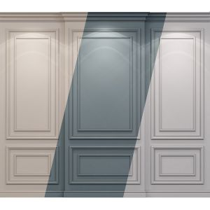 Wall Molding 22 Boiserie Classic Panels