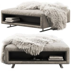 Boconcept Hampton Footstool With Storage