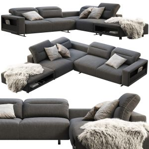 Boconcept Hampton Corner Sofa With Storage