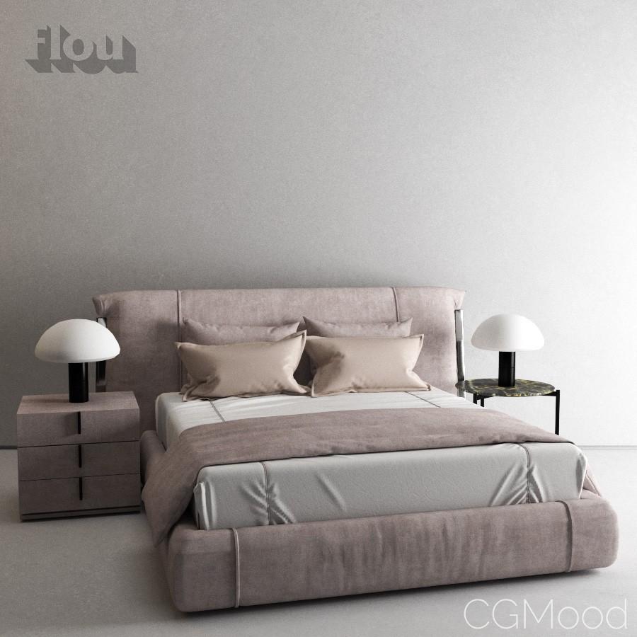 Bed Flou Amal