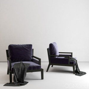 Poliform Armchair Soori Highline