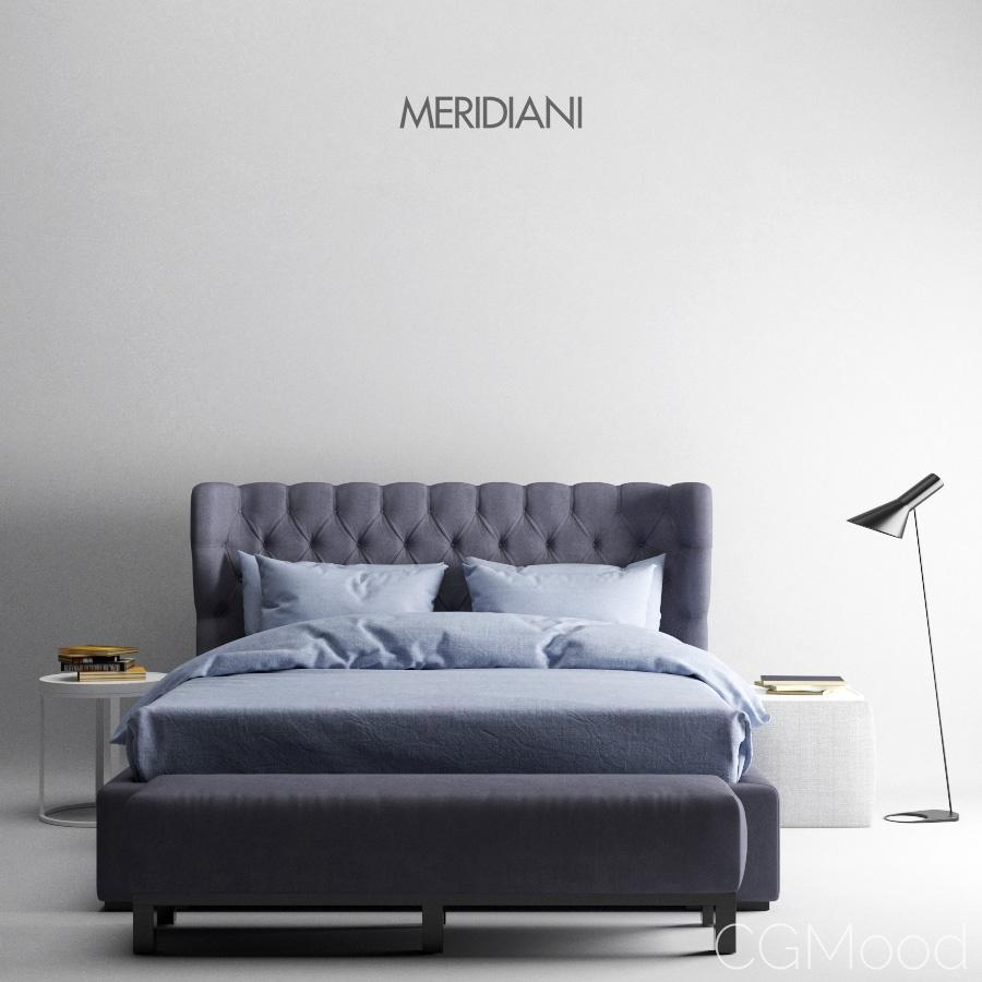 Bed Meridiani Lauren