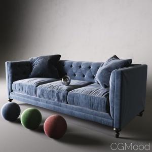 Graham Velvet Sofa