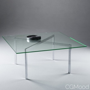 Barcelona Table by Mies van der Rohe