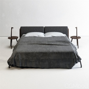 Cassina Cicognino & L41 Sled Bed