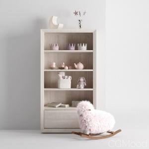 Items For The Children's Room 3d Model