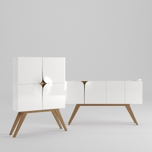 Sideboard & Chest Of Drawer 003