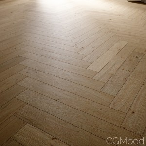 Herringbone Oak Floor
