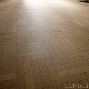 Mosaic Oak Floor