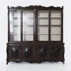 1270 Nero cabinet by Chelini