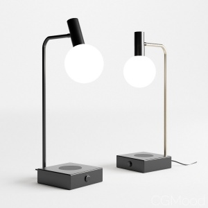 Spenser Led Wireless Charger Table Lamp By John Le