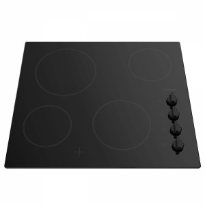 Black Electric Cooktop Bosch Pke611ca1e