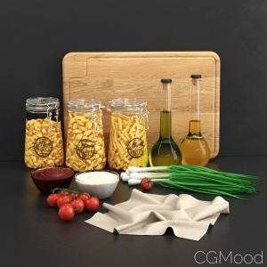 Decorative Set: Pasta Dry Set