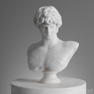 Antinous 3d Scanned Model