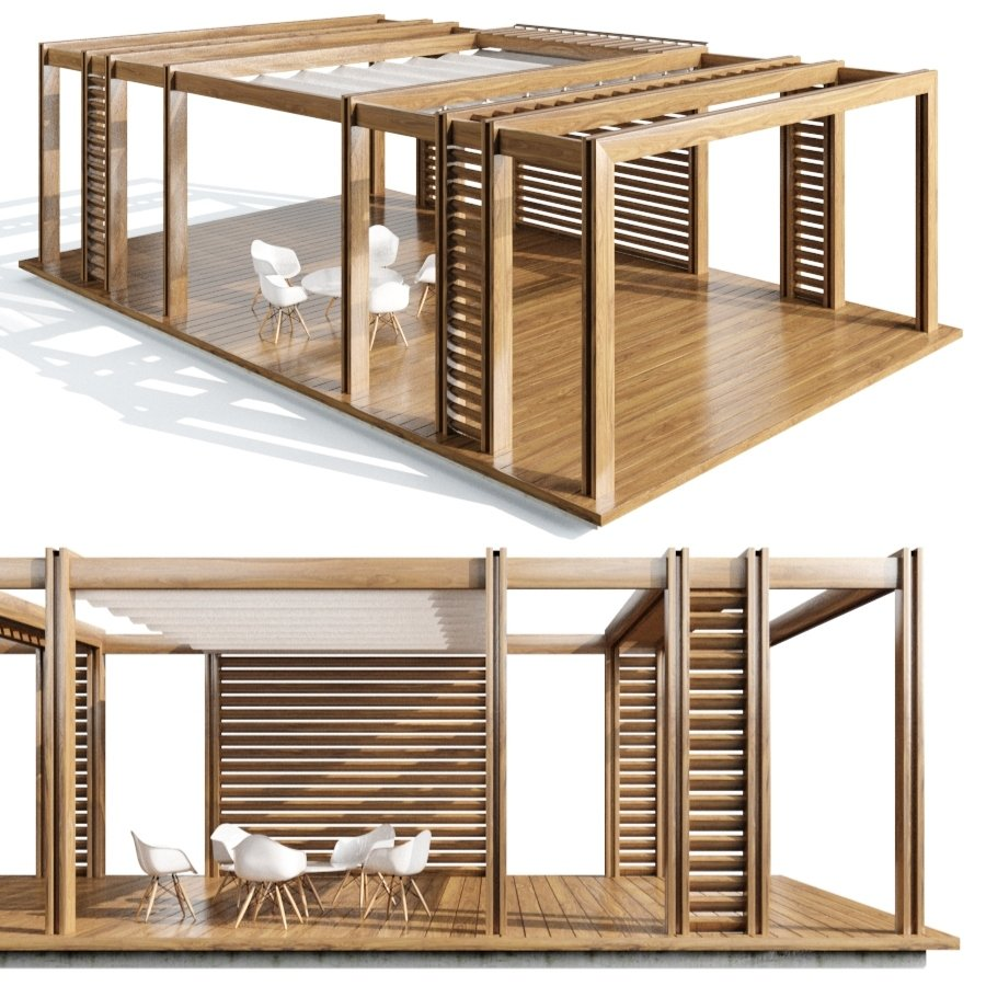 Pegola Corradi_outdoor Living Space - 3D Model for VRay ... on Corradi Living Space id=99735