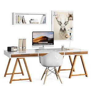 Desk Scandinavian Set-ikea