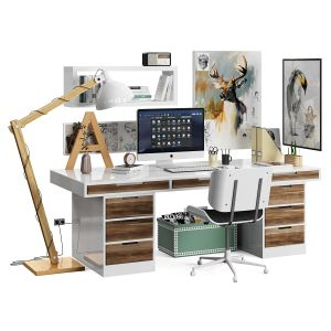 workspace_ikea_scandinavian set