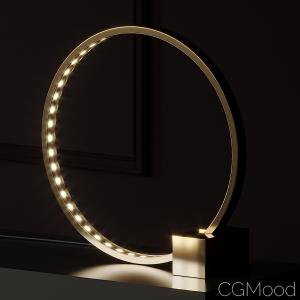 Hoop And Stick Lamp By Anna Karlin